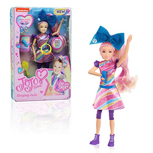 JoJo Siwa JoJo Singing Doll, #1U, 10-Inch Doll, Multi-Color