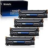 Mokofs Compatible Toner Cartridge Replacement for HP 83A CF283A 83X H-CF283X use with HP Laserjet Pro M201n M201dw M125fn M125fw M127fn M127fw M225dn M225dw M225rdn Printer (Black, 4 -Pack)