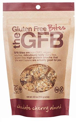 Gluten Free Bites, Chocolate Cherry Almond, 4 ounce Bag
