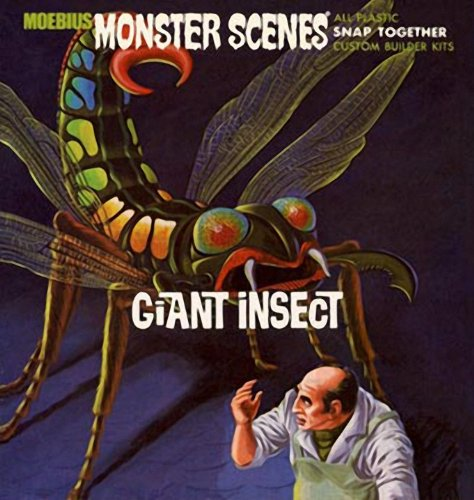 Moebius - Monster Scenes Giant Insect - A-MMK643