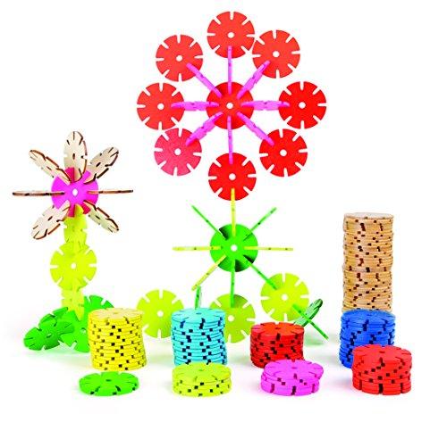 Small Foot - 10415 - Jeu d'Assemblage - Petites Fleurs