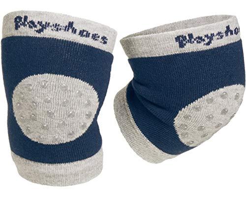 Playshoes Unisex Baby Knieschoner rutschhemmend Stulpen, Marine, one size