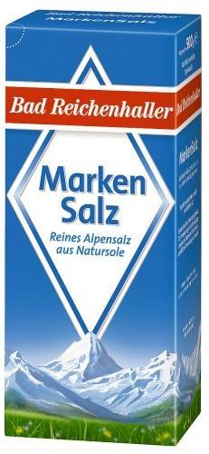 Bad Reichenhaller Markensalz, 24er Pack (24 x 500 g Packung)