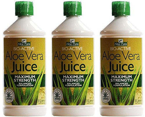 (3 PACK) - Aloe Pura - Aloe Vera Juice | 1000ml | 3 PACK BUNDLE