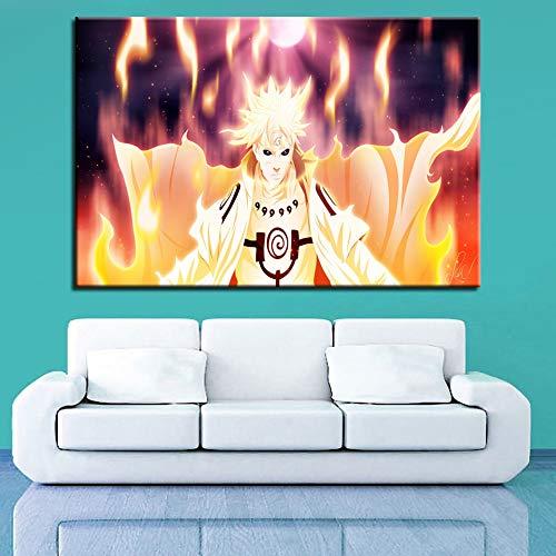Puzzle 1000 Piezas Pintura De Arte De Animación De Naruto Puzzle 1000 Piezas Adultos Gran Ocio vacacional, Juegos interactivos familiares50x75cm(20x30inch)