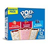 Pop-Tarts, Breakfast Toaster Pastries, Variety Pack, Proudly Baked in the USA, 20.3oz Box ...
