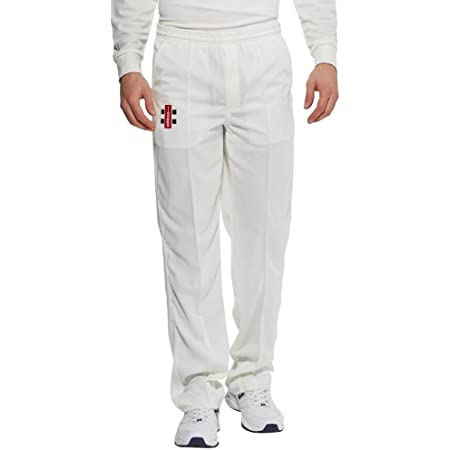 Gray-Nicolls Men's Matrix Trousers-Ivory, Large