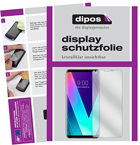 dipos I 6X Schutzfolie klar kompatibel mit LG V30S+ ThinQ Folie Bildschirmschutzfolie