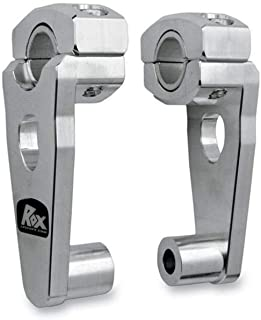 Rox Speed FX Patriot Series Pivoting Risers Machined Aluminum 4RP2RXM 2in