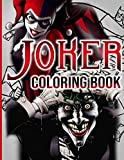Joker Coloring Book: Fantastic Joker Coloring Books For Kid And Adult! Anxiety