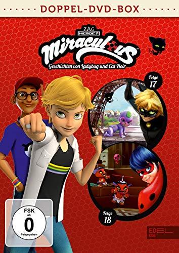Miraculous - Geschichten von Ladybug und Cat Noir - Doppel-DVD-Box (Folgen 17 + 18)