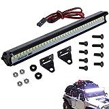 LED Light Bar Roof Lamp Kit for 1/10 RC Crawler Cars Traxxas TRX4 Slash 4x4 Axial SCX10 Wraith D90 Gen8