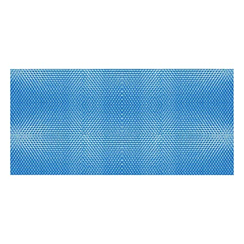Foochow Cubierta Solar para Piscina, Cubierta Solar De Piscina, Película De Aislamiento De Plástico De Burbujas Azul Cubierta De Polvo De Protección Solar Anti-UV para Piscina De Marco