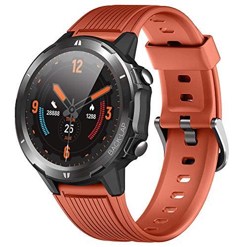ORYTO Smartwatch Fitness Tracker Orologio Uomo Donna Impermeabile 5ATM Smart Watch Cardiofrequenzimetro da Polso Contapassi Sportivo Activity Tracker Bambini Smartband per Android iOS Xiaomi Samsung