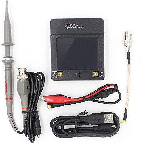 ARCELI Tragbarer digitaler Speicheroszilloskop-TFT-Touchscreen mit 2 MHz und 5 Msps und 1200-mAh-Akku DSO112A
