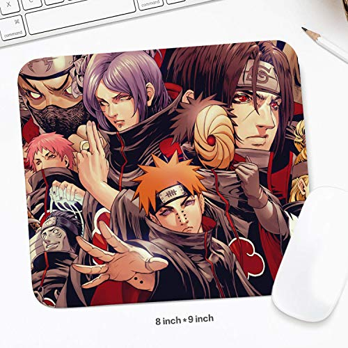 """Gaming Anime Mouse Pad (8""""x9"""") Rubber Non-Slip Waterproof Desk Mat"""