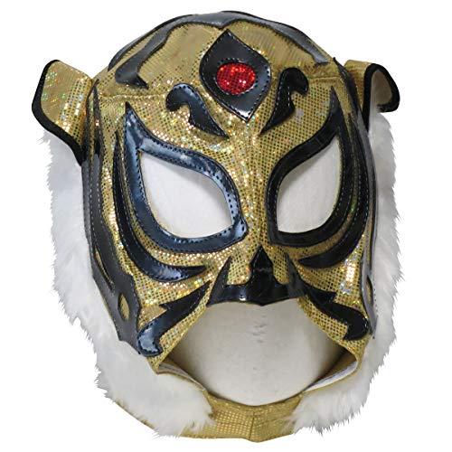 【プロレスマスク】猛虎 タイガーマスク レプリカマスク ルチャリブレ プロレス