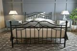 <span class='highlight'>Metal</span> Iron Bed Frame 5ft King Size Bedroom Furniture in Black Colour