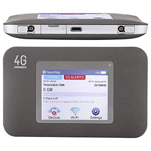 Socobeta Enrutador WiFi Tarjeta de Aire de señal Estable Conveniente 4G Durable Dongle Router para Smartphone