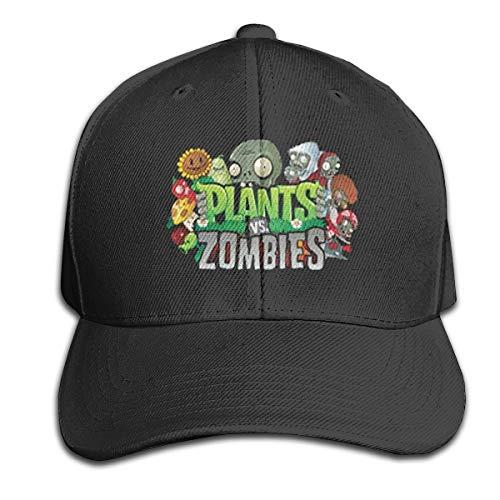 Zwj Unisex Plants Vs Zombies Youth Unisex Baseball Hat Trucker Cap Peaked Cap Baseball Caps Dad Hat