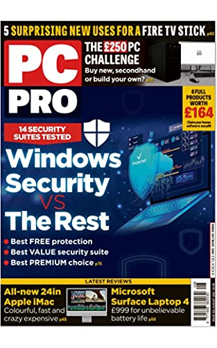 PC Pro – Issue 322 Magazine: Windows Security vs The Rest: 14 Security Suites Tested (English Edition)