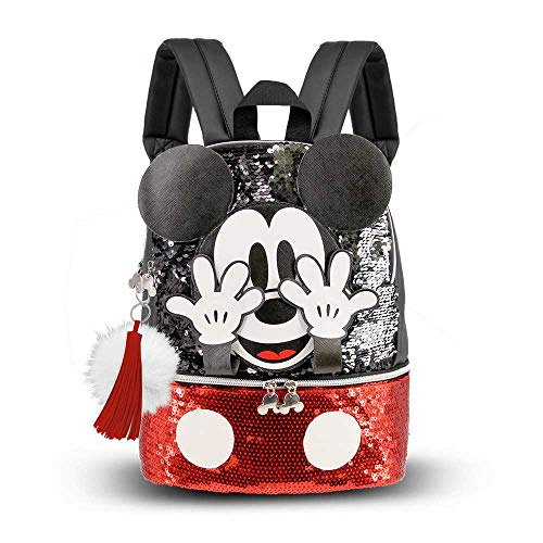 Karactermania Mickey Mouse Shy - Mochila Bouquet, Multicolor, Pequeña