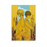 QTYB Anime Banane Fisch Poster Gay Partner Ash Luchs Poster