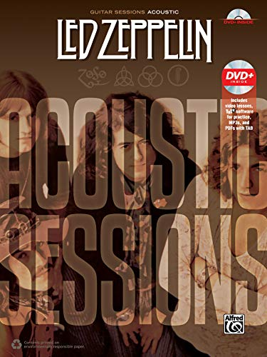 Led Zeppelin: Acoustic Sessions - (incl. DVD): Book & DVD (Guitar Sessions)