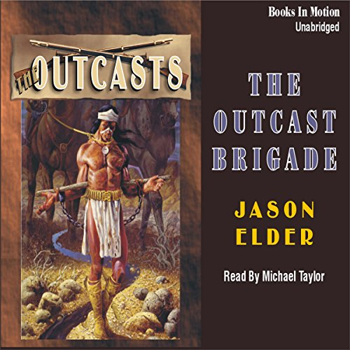 The Outcast Brigade audiobook cover art