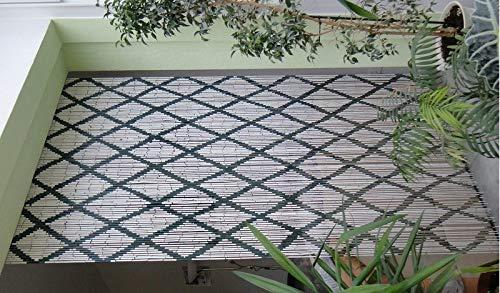Leguana Handels GmbH Bambusvorhang Türvorhang Ornament-New! ca. 115x220cm (BxH)