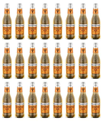Fever-Tree Spiced Orange Ginger Ale 200 ml (Pack of 24)