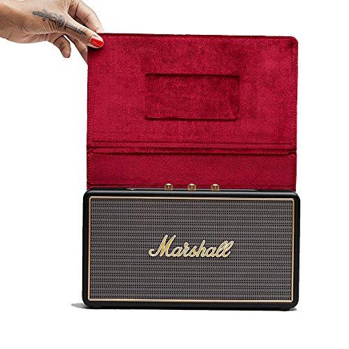 Marshall Stockwell Portable Bluetooth Lautsprecher mit Flip Cover - schwarz
