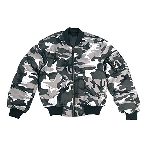 Mil-Tec Jacke für Herren, Grau, grau, XL