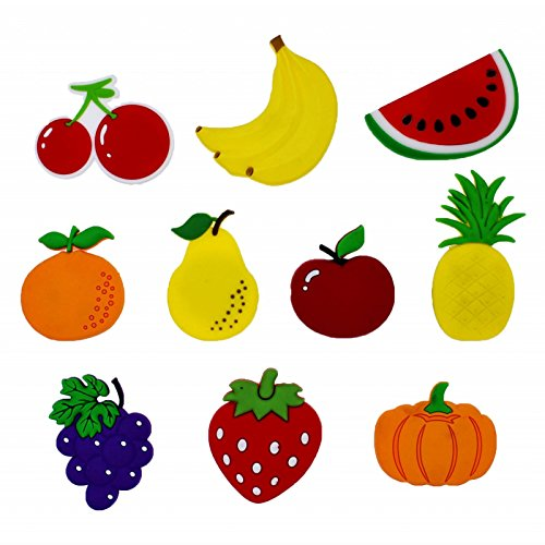 XHAOYEAHX Cute Fruits Vegetables Stereo Refrigerator Fridge Magnets For Kids  Activity Home Decoration Funny Stickers [...]