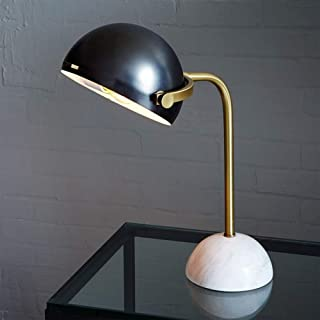 LeBsun Desk Lamp Lamp Nordic Art Marble Table Lamp Warm Light Modern Minimalist Creative Fashion Bedside Desk Reading Room...
