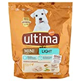Ultima Pienso Mini Light Pollo para perros, 800 g