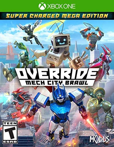 Override Mech City Brawl Super Charged Mega Edition Xbox One product image