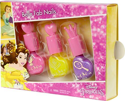Disney Princess! Belle Fab Nägel! Little Girl Nagellack-Set