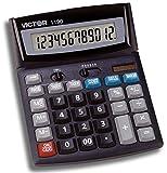 Victor 1190 Desktop Display Calculator, Black, 1' x 5.9' x 7.8'