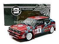 トリプル9 1/18 ランチア デルタ HF インテグラーレ 16V マルティニ 1989 サンレモ ラリー #5 D.オリオール/B.オセッリ