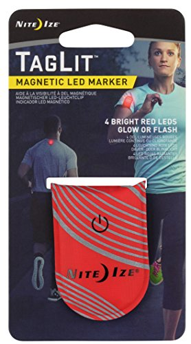 TagLit Magnetic LED Marker, rot
