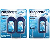 Nicorette 2mg Nicotine Lozenges to Quit Smoking - Flavored Stop Smoking Aid, Ice Mint, 20 Count (Pack of 5)