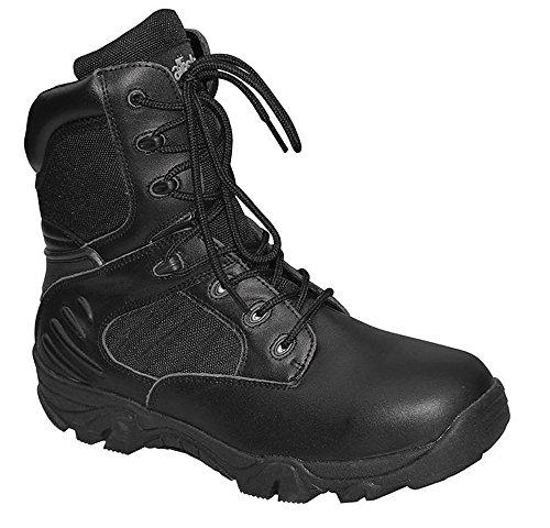 Commando Industries MCA Tactical Boots Delta Force Outdoort Stiefel Einsatzstiefel Schwarz oder Beige Gr. 38-47 (44, Schwarz)