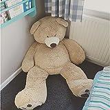 Lerosier Nounours Peluche géants de 100 à 340 cm !! Teddy Bear Ourson Ours Immense (130 cm)