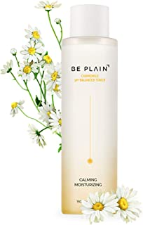 BE PLAIN Chamomile pH-Balanced Toner 6.7 fl oz. - Facial Acne Toner for Face Pore Refining Natural Skin Toner for Blemish-Prone Irritated Acne Sensitive Skin Toners Made with Pure Chamomile Flower