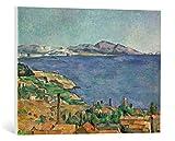 kunst für alle Leinwandbild: Paul Cézanne Die Bucht von