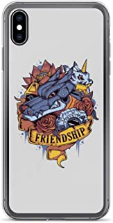 iPhone 6/6s Case Anti-Scratch Japanese Comic Transparent Cases Cover Digital Friendship Anime & Manga Graphic Novels Crystal Clear
