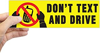 CafePress Don't Text and Drive Sticker (Bumper) 10
