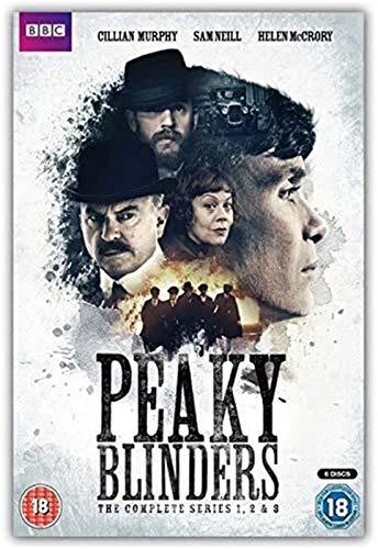 Refosian Peaky Blinders Movie Tv Movie Martin Scorsese Hd Arte de la pared Decoración del hogar Pintura de la lona Decoración del arte Cafe Bar Room Poster 40X50Cm -X871