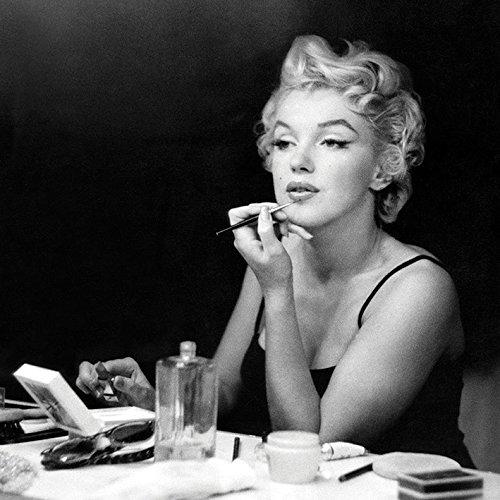 Marilyn Monroe Leinwanddruck, Polyester, Mehrfarbig, 40 x 40 cm